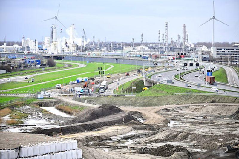Project Blankenburgverbinding Rotterdam