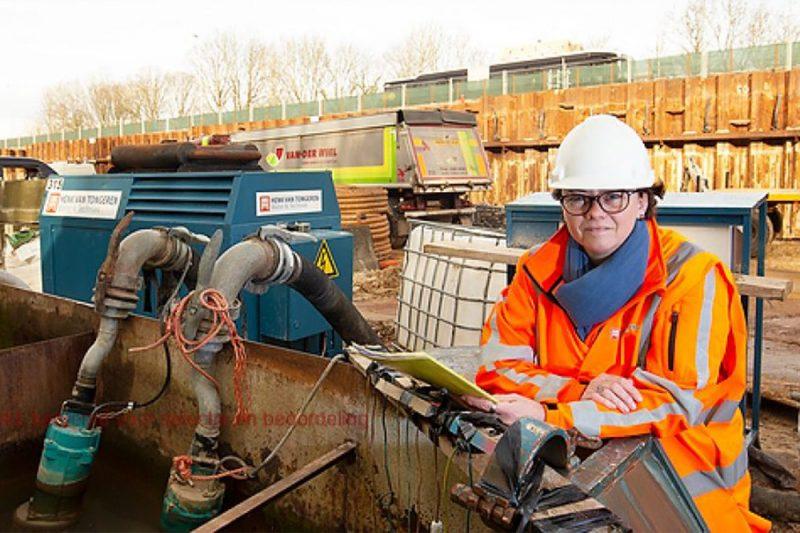 Daniëlle van Lieshout is vrouw in de bouw