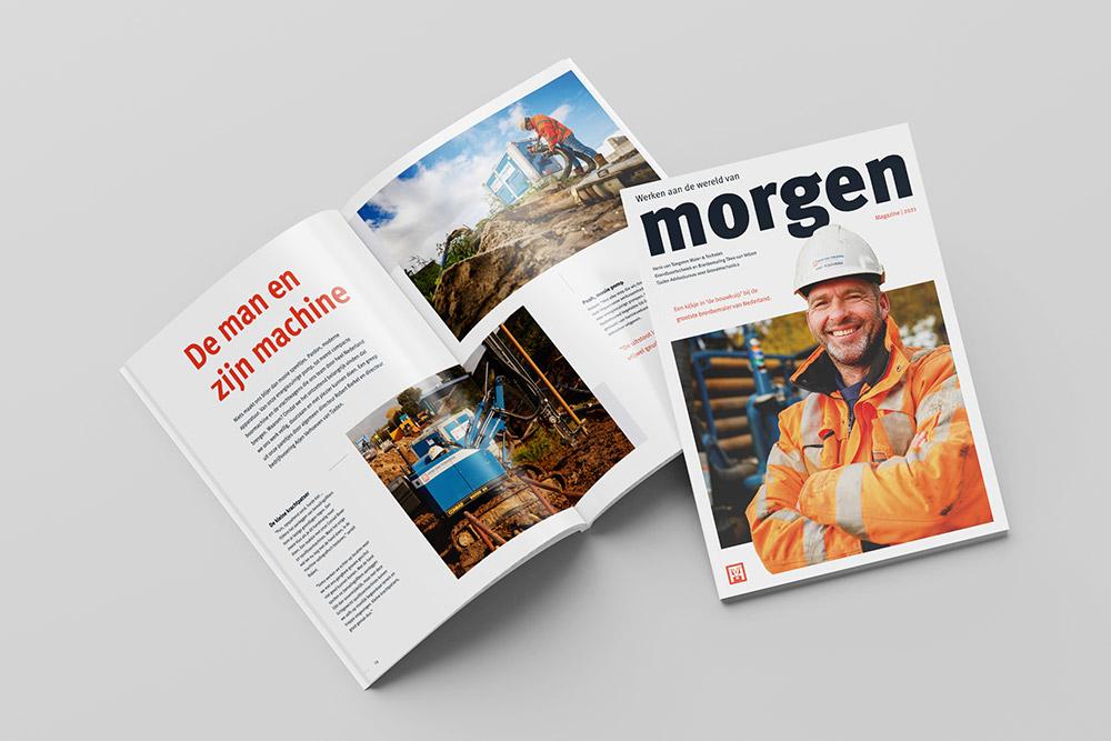 Het gloednieuwe magazine van Van Tongeren Watertechniek